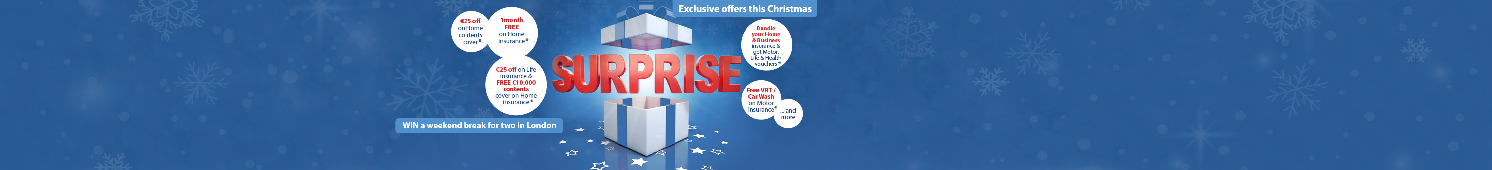 Christmas Offers 2014