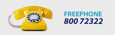 Freephone Banner